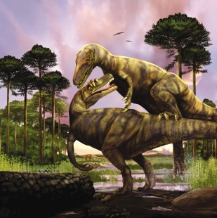Herrarasaurus Illustration