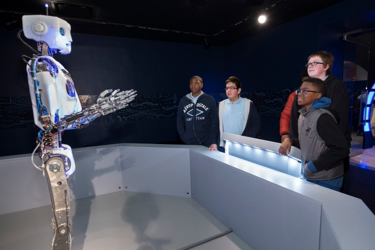 Robot Revolution exhibit @ the Museum of Science and Industry, Chicago