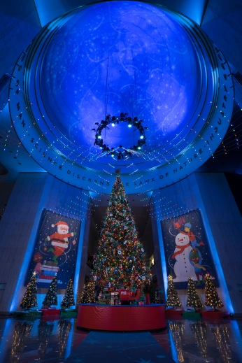 Grand Christmas Tree @ the Museum of Science and Industry, Chicago