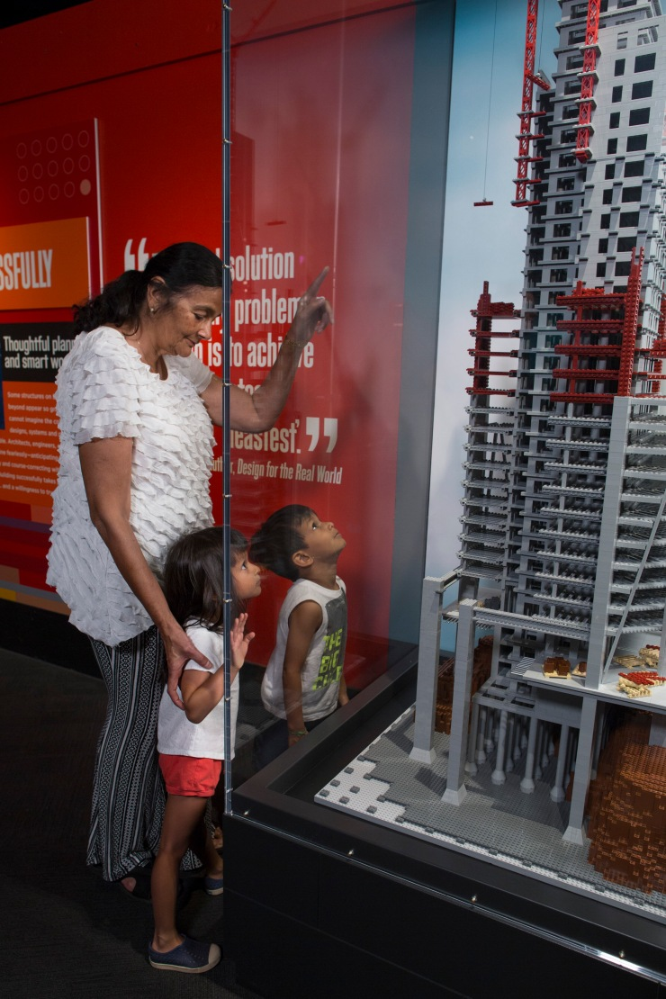 Brick By Brick Exhibit @ the Museum of Science and Industry Chicago