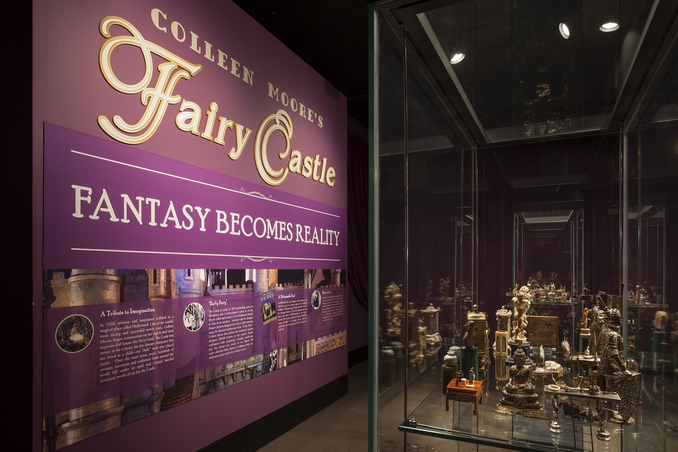 Fairy Castle Conservation @ the Museum of Science and Industry
