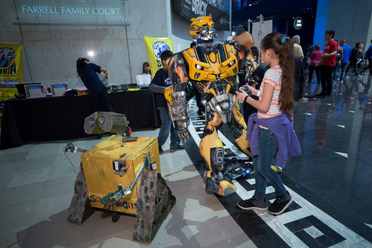Robotics Week @ the Museum of Science and Industry Chicago