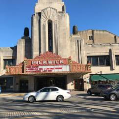 In recent years, the Vlahakis family, who've owned the building for 50 years, have been able to turn the building into a multiplex by adding smaller theaters around the original auditorium. The latest one, with a screen four times the size of the one in the auditorium, will open in time to screen INFINITY WARS in May, if all goes well.