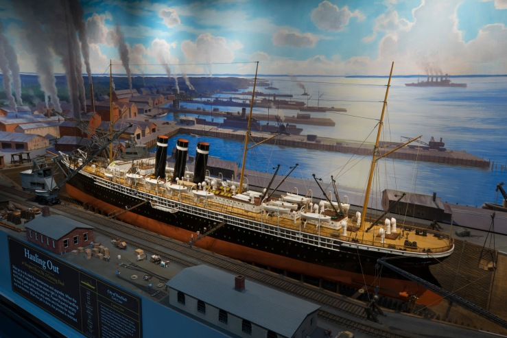 Ship Thru the Ages exhibit @ the Museum of Science and Industry, Chicago