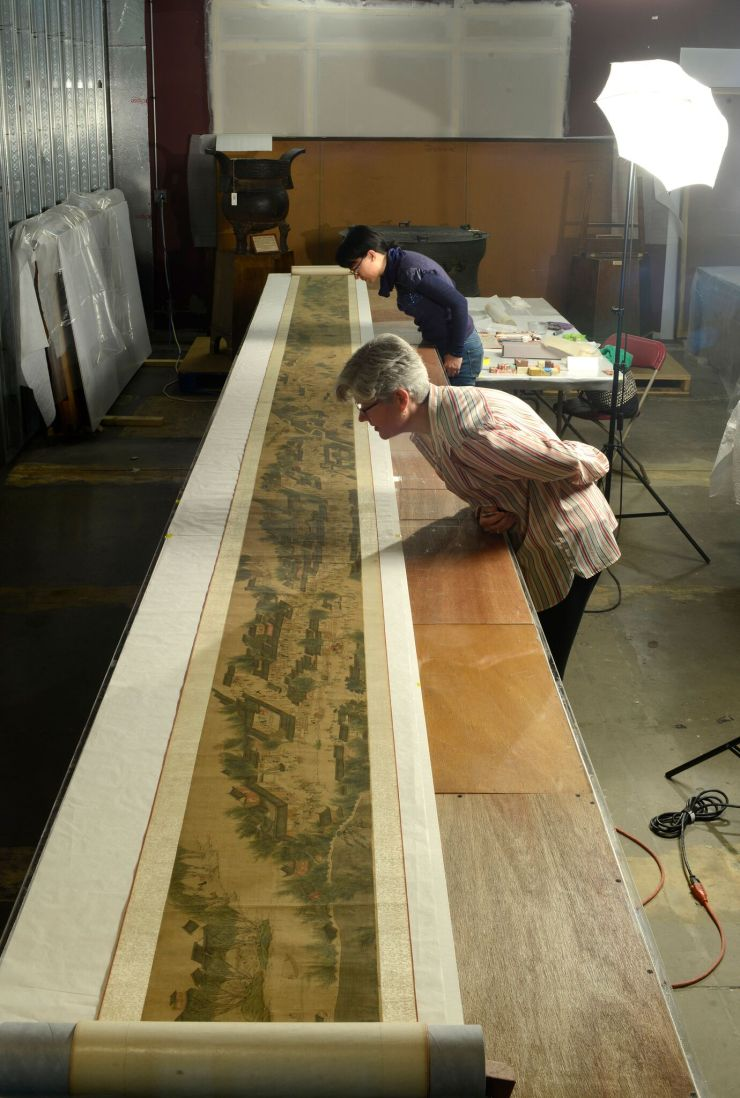10. Qingming Scroll Painting