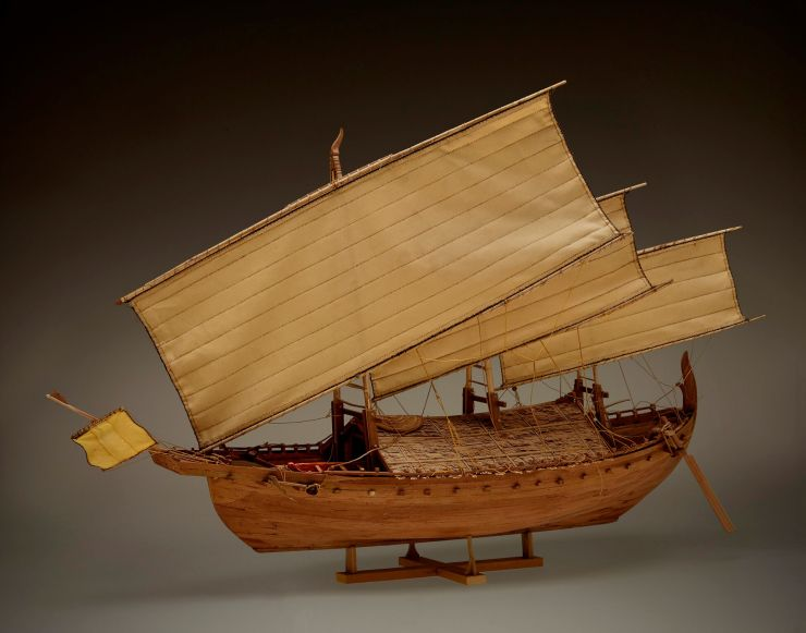 18. Model of the Java Sea Shipwreck Vessel