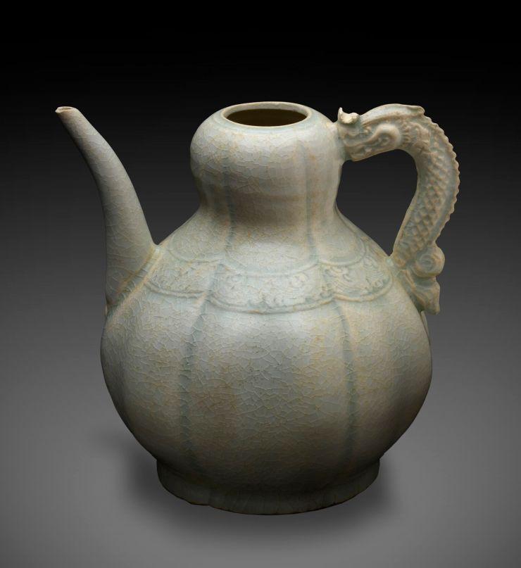 20. Qingbai Ceramic Ewer