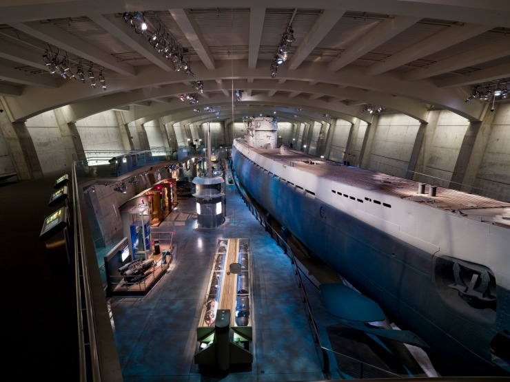 U-505 Submarine @ the Museum of Science+Industry Chicago
