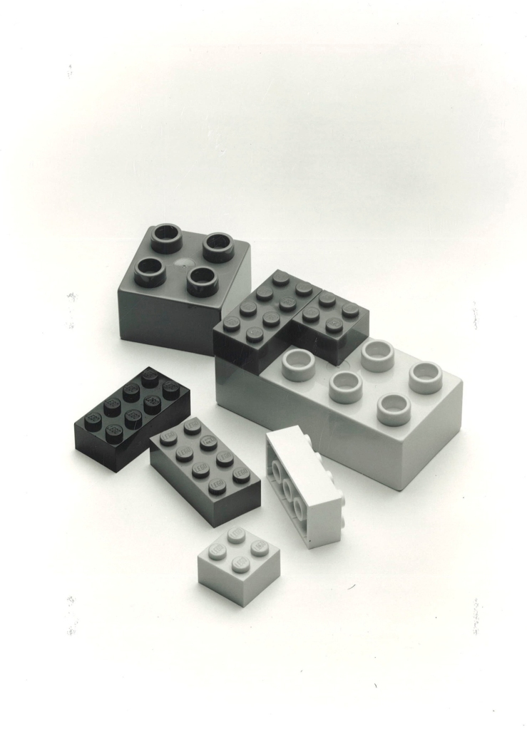 LEGO and DUPLO bricks