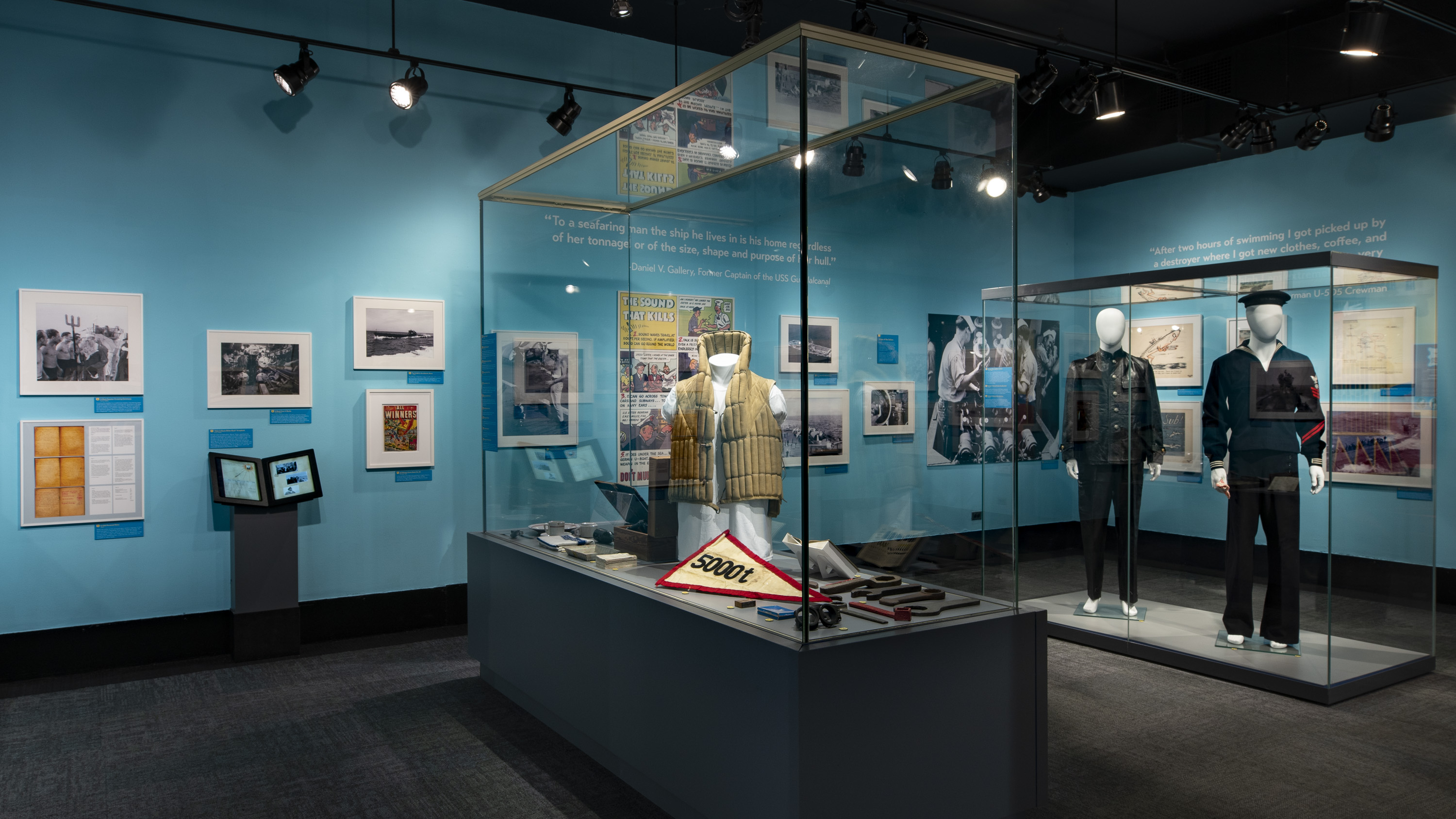 U-505 75th Anniversary Exhibit
