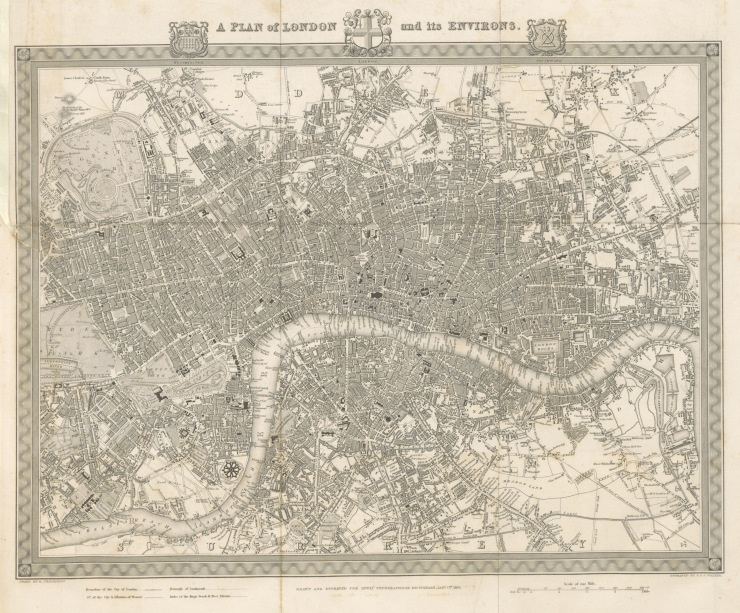 a-plan-of-london-and-its-environs-from-a-topographical-dictionary-of-england-1834