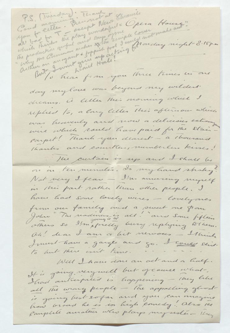 letterfromGuinnesstohiswifewrittenonthefirstnightoftheOldVics1938seasonc001