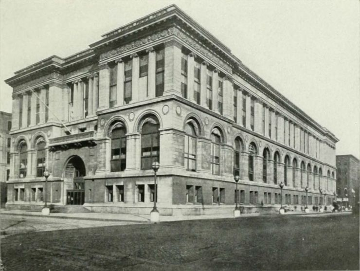 NIE_1905_Chicago_-_Public_Library