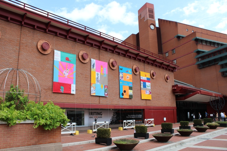 somerstown-festival-banners-on-british-library.JPG